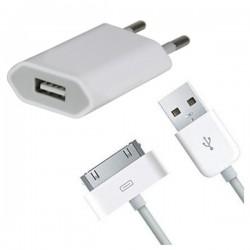 Caricabatteria e Cavo USB per Apple iPhone