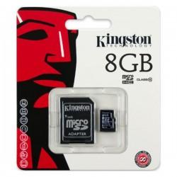 Kingston Micro SDHC 8 GB Class 10 - SDC10/8GB