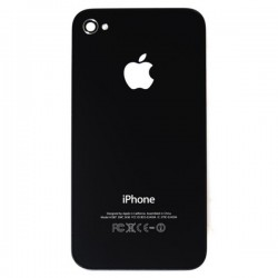 Back Cover Apple iPhone 4G Black compatibile