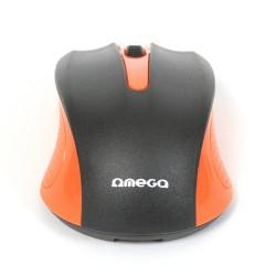 Mouse Omega OM05O 3D Optical 1000DPI USB Orange