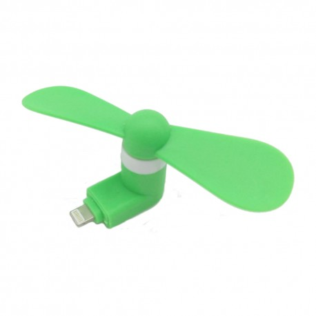 Mini Fan per iPhone con presa  Lightning Green