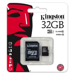 Kingston Micro SDHC 32 GB Class 10 - SDC10G2/32GB