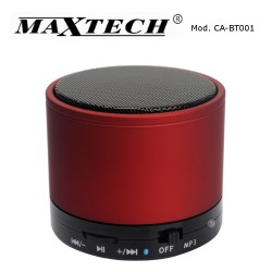 Maxtech CA-BT001 Speaker Bluetooth Red
