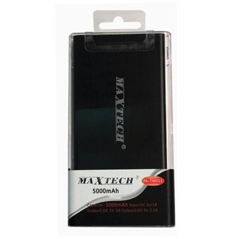 Maxtech PA TM011 Power Bank 5000mAh Black