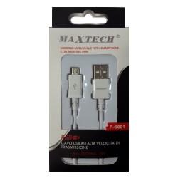 Maxtech F-S001 cavo micro USB per smartphone e tablet