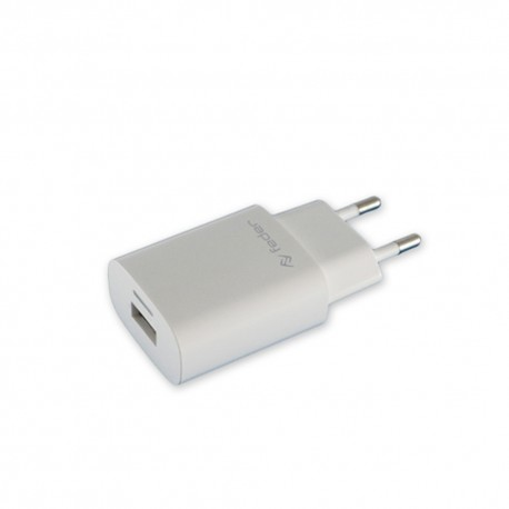 Feder FTZ42B1 Travel Charger USB da 1000 mah bianco