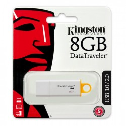 Kingston DTIG4/8GB Pen Drive da 8GB USB 3.0 Yellow