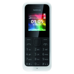 Nokia 105 Dual Sim White Italia