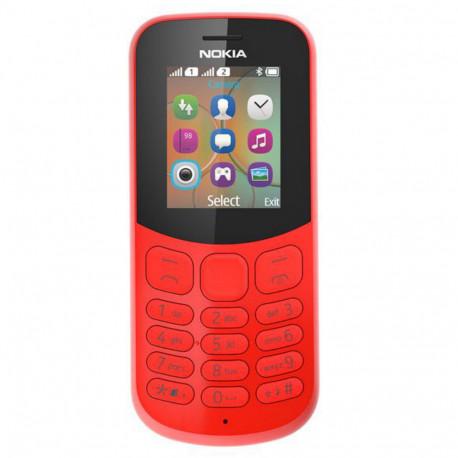 Nokia 130 (2017) Dual Sim Red Italia