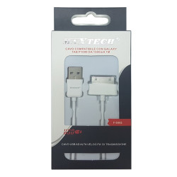 Maxtech F-S002 White cavo USB-OTG per Galaxy TAB