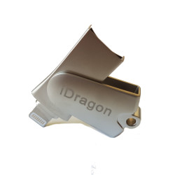 Hengstar iDragon Micro lettore di schede SD per iPad e iPhone