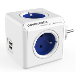 Allocacoc PowerCube Original USB Type E Cobalt Blue