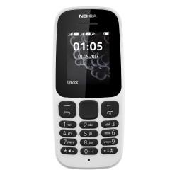 Nokia 105 Dual Sim (2017) White Italia
