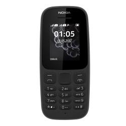 Nokia 105 Dual Sim (2017) Black Italia