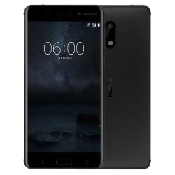 Nokia 6 Dual Sim Matte Black Italia