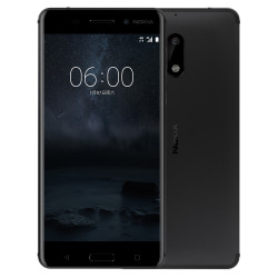 Nokia 6 Dual Sim Matte Black ITA
