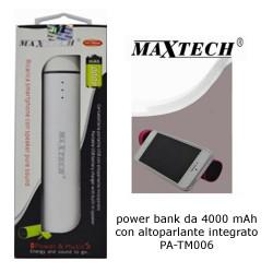 Maxtech PA-TM006 PowerBank 4000mAh White