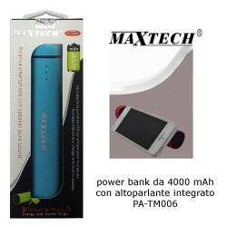 Maxtech PA-TM006 PowerBank 4000mAh Blue