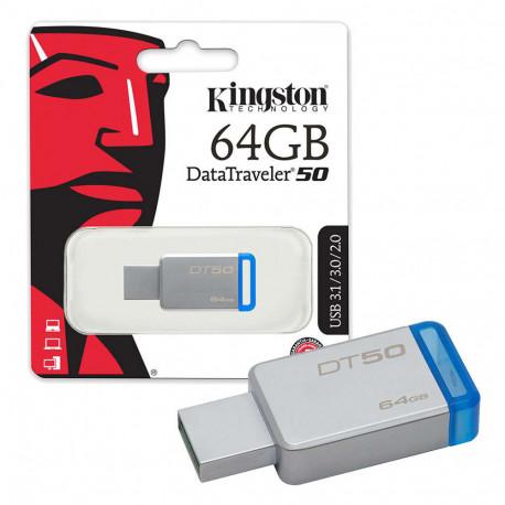 Kingston DT50/64GB Pen Drive da 64GB USB 3.0
