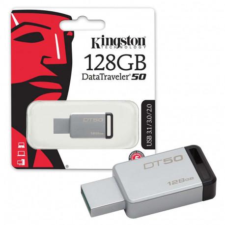 Kingston DT50/128GB Pen Drive da 128GB USB 3.0