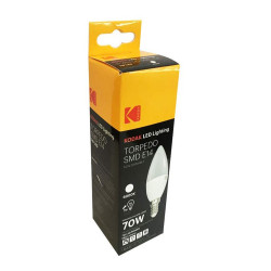 KODAK 71051-EU-4000 LAMPADINA LED SMD 7W E14 OLIVA TORPEDO
