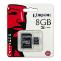 Kingston Micro SDHC 8 GB Class 4 - SDC4/8GB