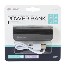 Platinet PMPB26LB Power Bank 2600mAh Black