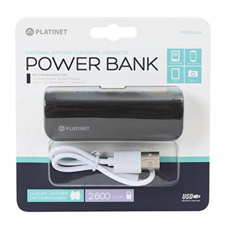 Platinet PMPB26LB Power Bank 2600mAh Black