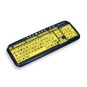 Techmade (VKL-260-BF) tastiera USB contrasto elevato