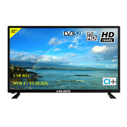 "Majestic (TVD-232/S2) TV-LED 32"" HD Ready DVB-T2"