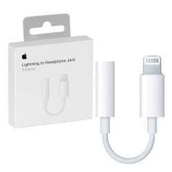 APPLE A1749 (MMX62ZM/A) Adattatore da Lightning a Jack 3,5 per iPhone e iPad