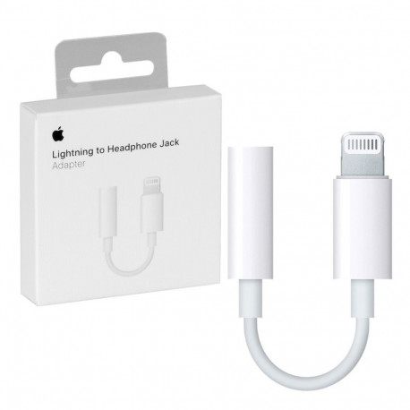 APPLE A1749 (MMX62ZM/A) Adattatore da Lightning a Jack 3,5 per iPhone e iPad