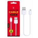 OnePlus (AS109) cavo Micro USB White (3m) 1A