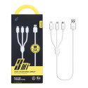 OnePlus (AU403) 3 In 1 USB Charging Cable White