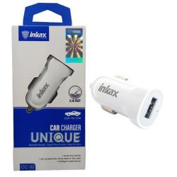 Inkax CC-32 Caricatore da auto USB White