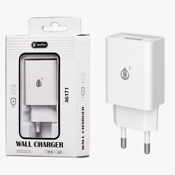 OnePlus A6171 Caricabatteria Rapido USB 2.4A, White