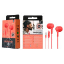 """OnePlus C5146 auricolare stereo jack 3.5"""" rosso"""