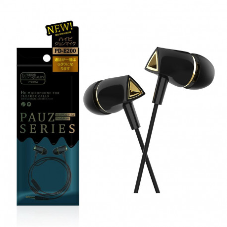 """Remax Proda Pauz PD-E200 auricolare stereo jack 3.5"""" Black"""
