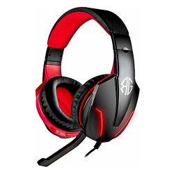 RG Cuffie Gaming Soundgame F1 PC/Console + Mic. Red