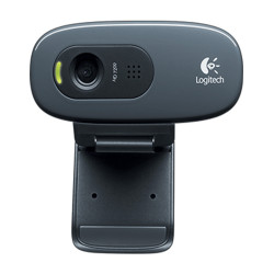 Logitech C270 HD Webcam con Mic. 3MP, black