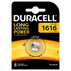 Duracell (DL/CR 1616) Batterie specialistiche a bottone Litio 3V