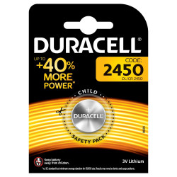 Duracell (DL/CR 2450) Batterie specialistiche a bottone Litio 3V