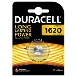 Duracell (DL/CR 1620) Batterie specialistiche a bottone Litio 3V