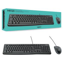 Logitech MK120 Tastiera e Mouse