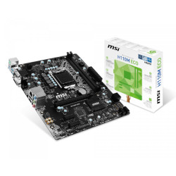 MB MSI H110M ECO H110 LGA1151 2DDR4 VGA+DVI+HDMI 2*PCIe 4*SATA3 6*USB mATX