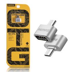 Remax RA-OTG adattatore MicroUSB-USB Silver