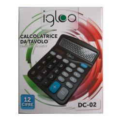 Igloo DC-02 Calcolatrice da tavolo