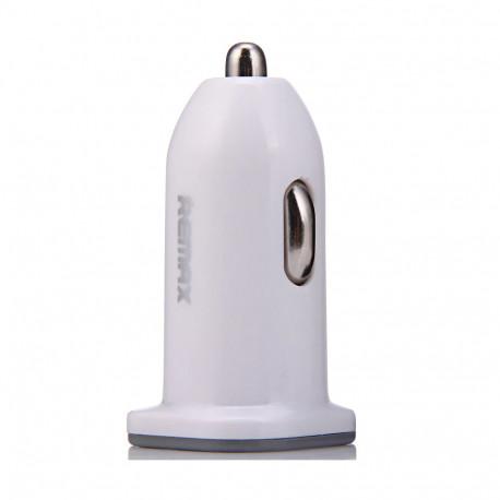 Remax CC101 Caricatore d'auto USB 2.1A, White