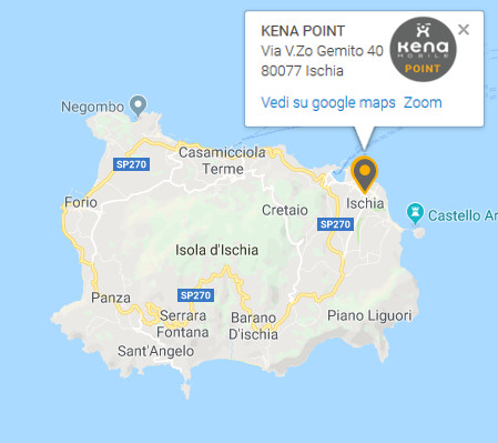 Kena Point Ischia Mappa